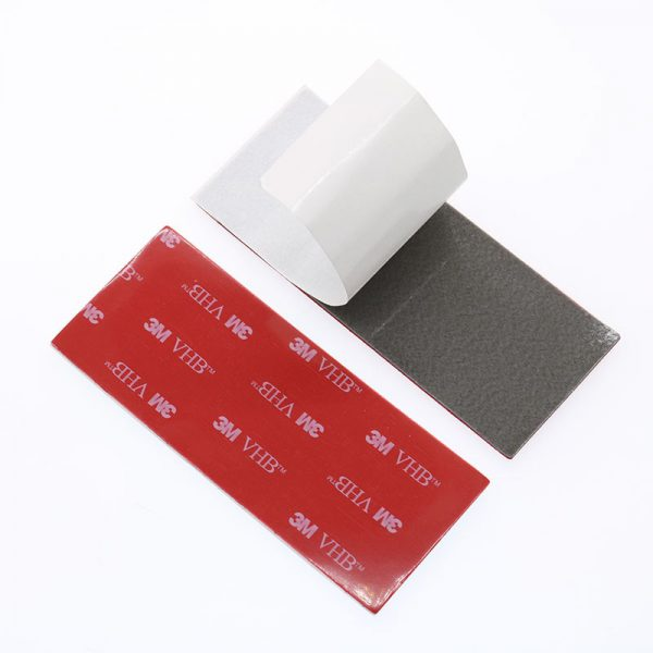 10 Pieces Of 3m Gray Tape Double sided Foam Pad 100x40x10 Mm Strong Bonding Strength Assembly 2 - Nano Tape