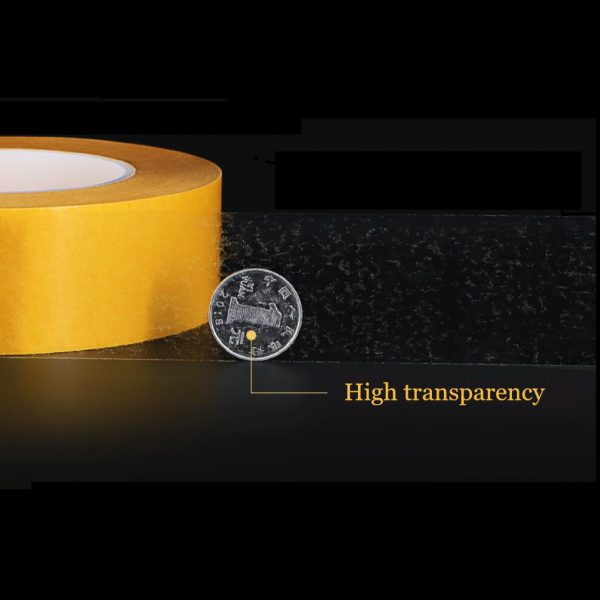 50 Meter High Temperature Resistance PET Double Sided Tape No Trace Transparent Heat Resistant Strong Double 1 - Nano Tape