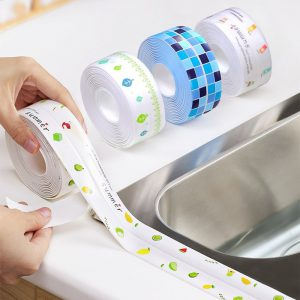 Anti mold Waterproof Tape Nano Traceless Tape Kitchen Sink Waterproof Sticker Bathroom Toilet Gap Self adhesive - Nano Tape