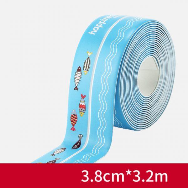 Anti mold Waterproof Tape Nano Traceless Tape Kitchen Sink Waterproof Sticker Bathroom Toilet Gap Self adhesive 6.jpg 640x640 6 - Nano Tape