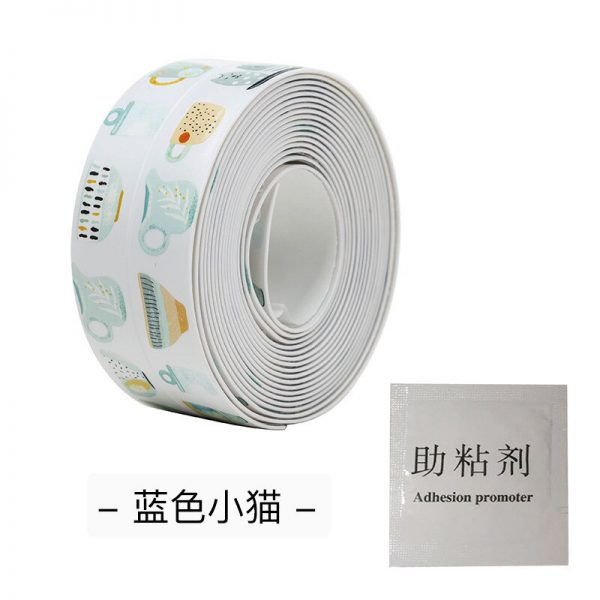 Anti mold Waterproof Tape Nano Traceless Tape Kitchen Sink Waterproof Sticker Bathroom Toilet Gap Self adhesive 9 - Nano Tape