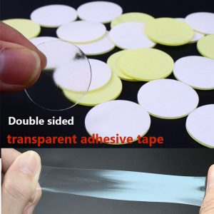 Transparent Round 20 50mm Acrylic Double sided Adhesive for Fixing Automobile Parts no mark Adhesive Strong - Nano Tape