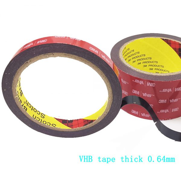 free shipping 0 64mm x 3meter Car Special Double sided Tape 3M VHB Black Strong Tape 2 - Nano Tape