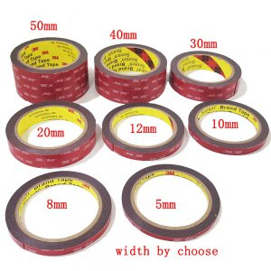 free shipping 0 64mm x 3meter Car Special Double sided Tape 3M VHB Black Strong Tape - Nano Tape