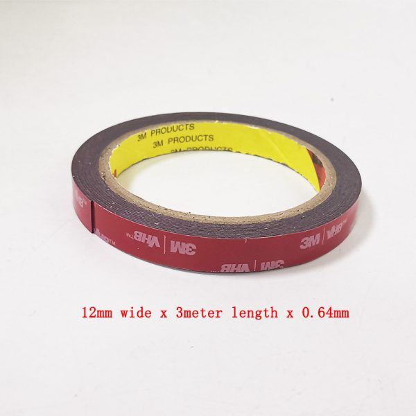 free shipping 0 64mm x 3meter Car Special Double sided Tape 3M VHB Black Strong Tape 4 - Nano Tape